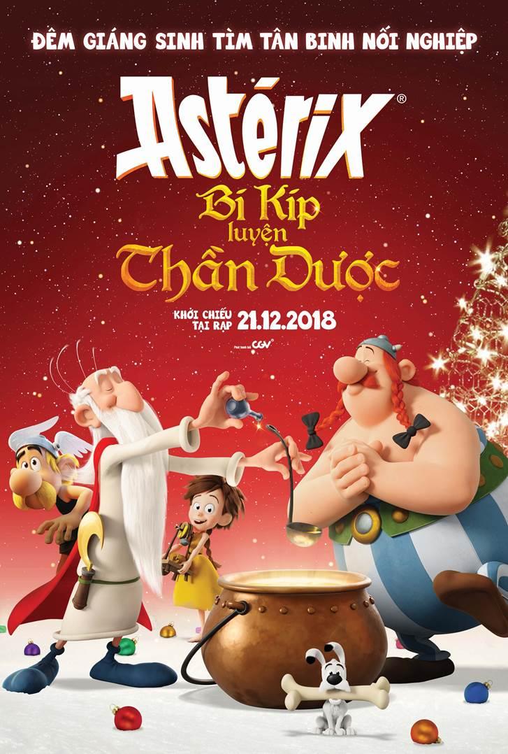 155 - Asterix - Bí Kíp Luyện Thần Dược 2019