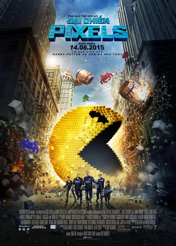 5528 - Pixels (2015) - Đại Chiến Pixels
