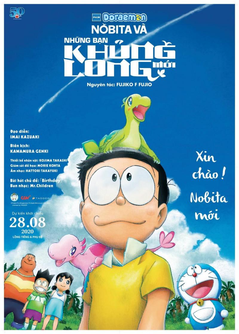 334 - Doraemon The Movie Nobita's New Dinosaur 2020 - Nobita Và Những Bạn Khủng Long Mới