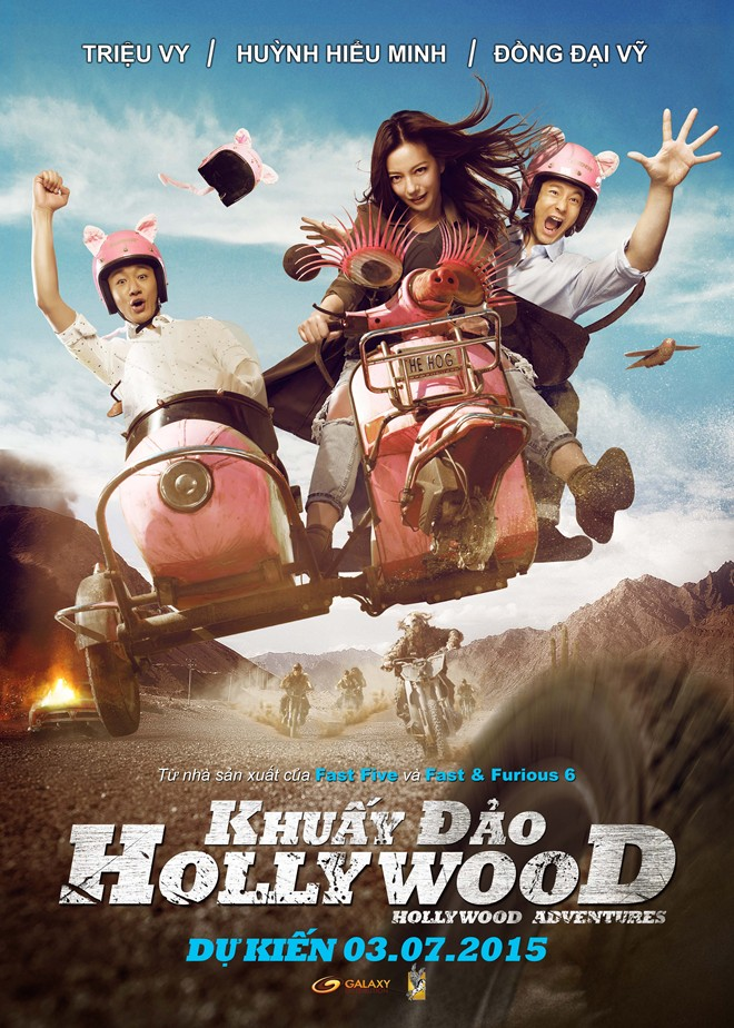 5522 - Hollywood Adventures (2015) - Khuấy Đảo Hollywood