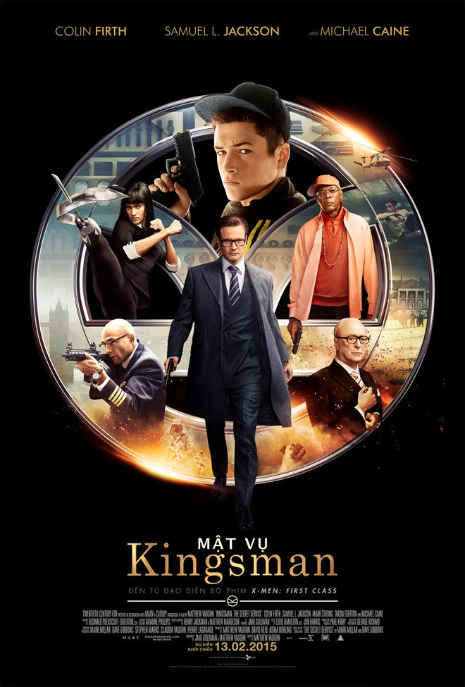 5518 - Kingsman: The Secret Service (2015) - Mật Vụ Kingsman