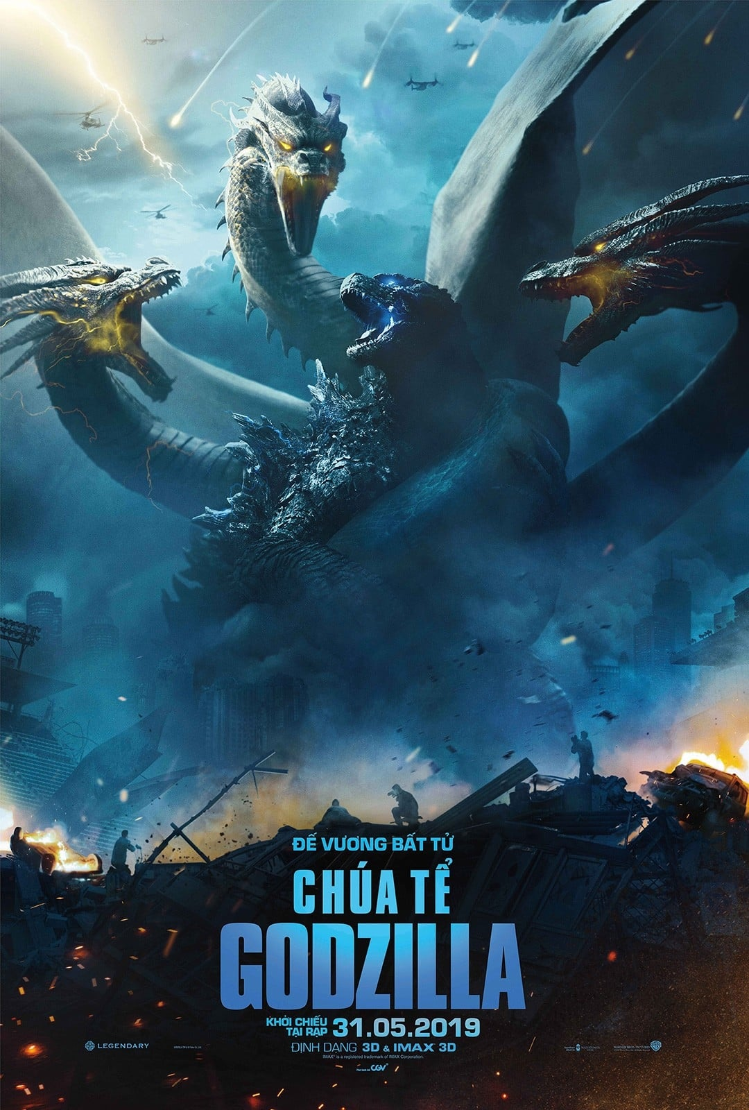 176 - Godzilla - King of the Monsters - Chúa Tể Godzilla 2019