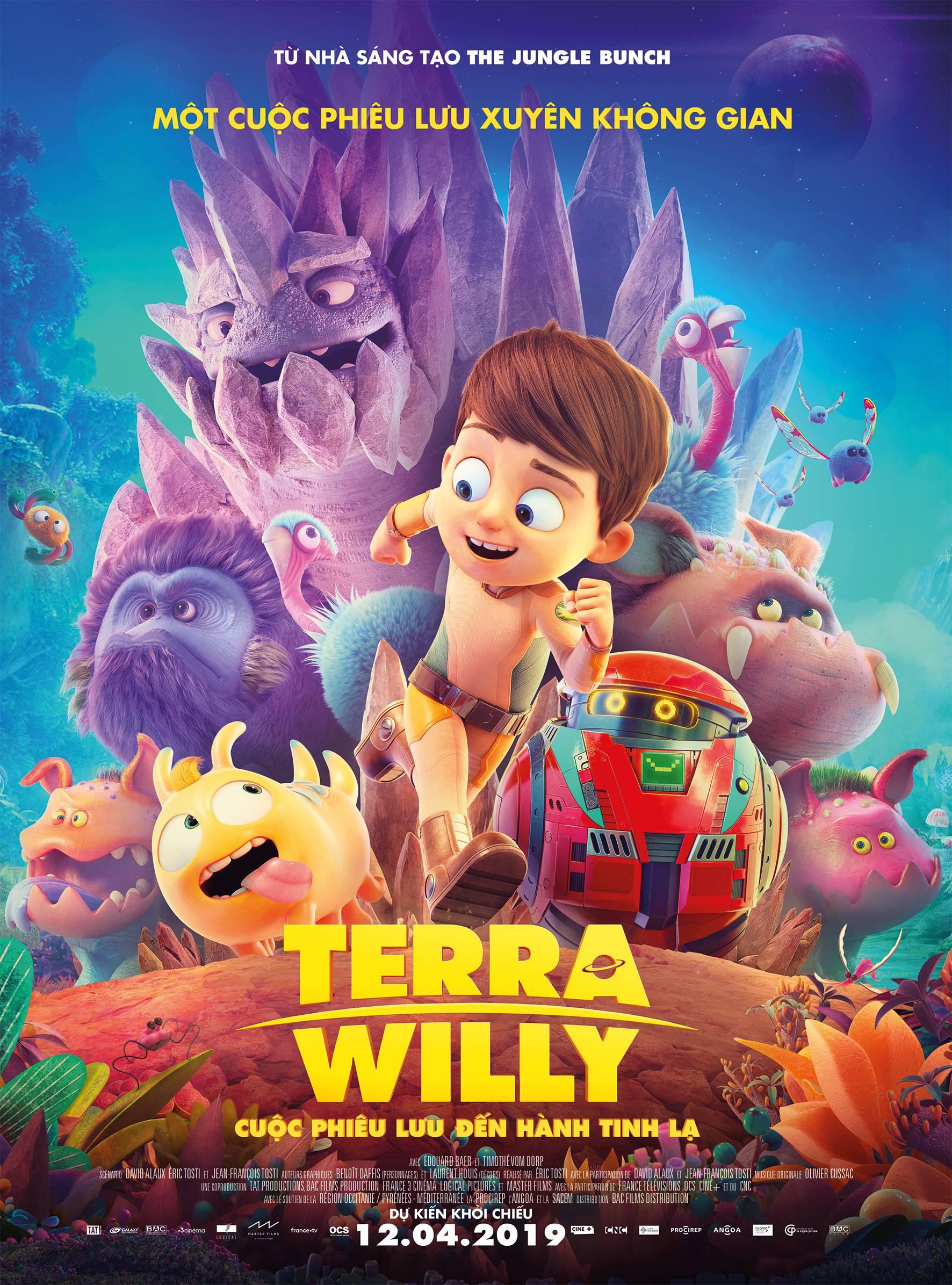 218 - Terra Willy - Cuộc Phiêu Lưu Đến Hành Tinh Lạ 2019