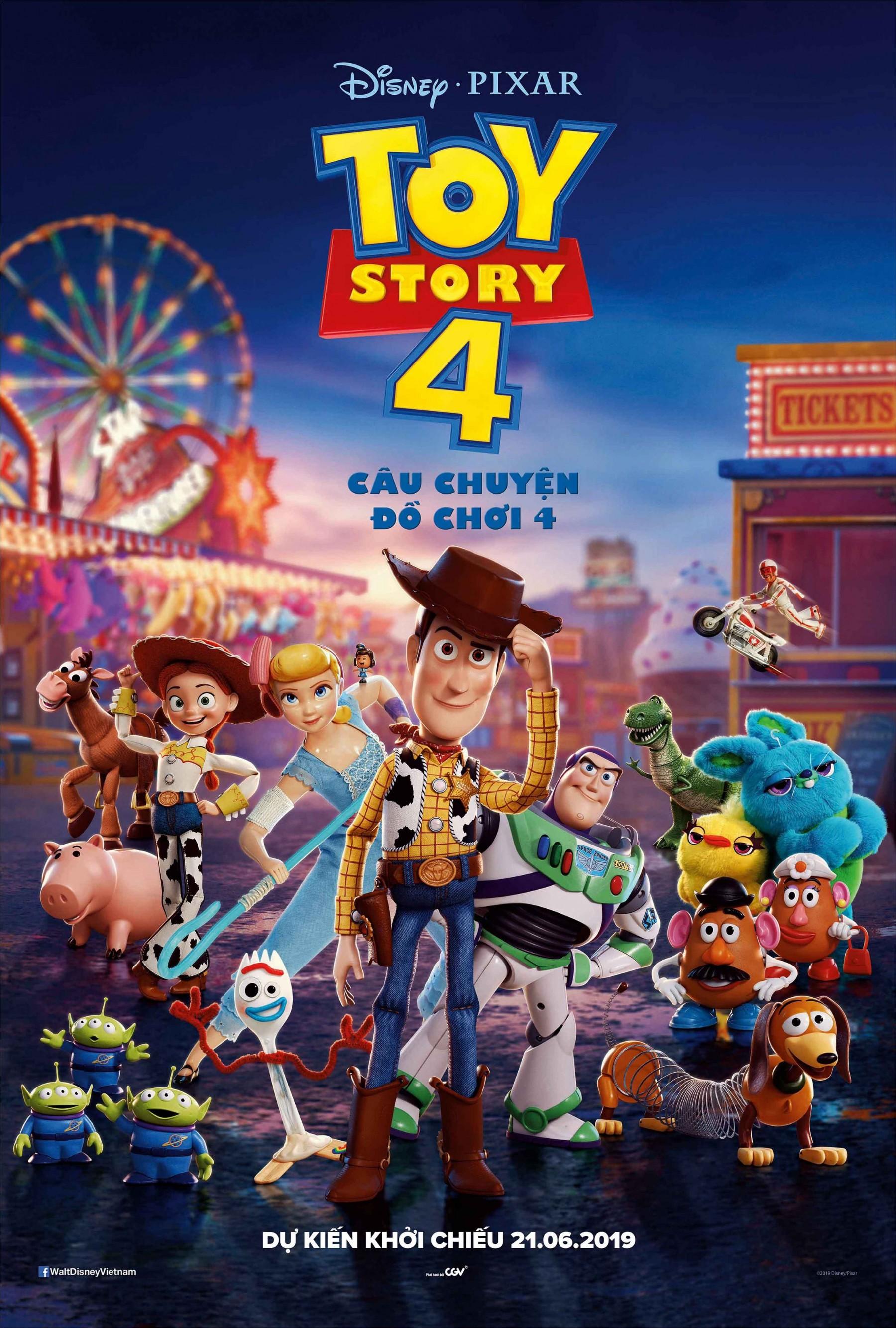 199 - Toy Story 4 2019 - Câu Chuyện Đồ Chơi 4