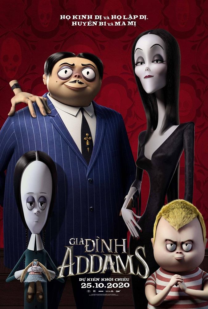 270 - The Addams Family 2020 - Gia Đình Addams