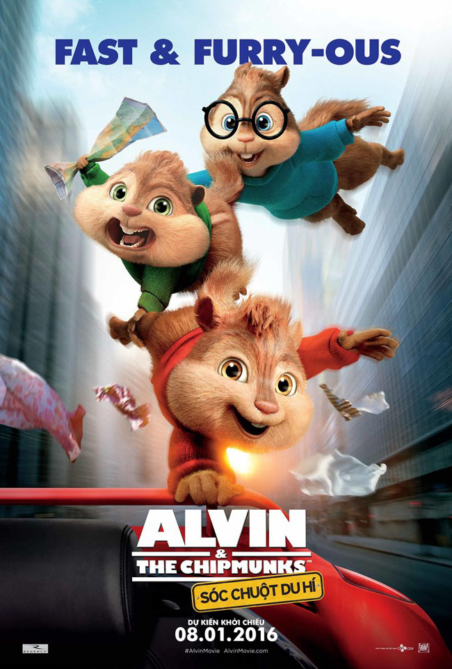 6664 - Alvin and the Chipmunks The Road Chip (2016) - Sóc Chuột Du Hí