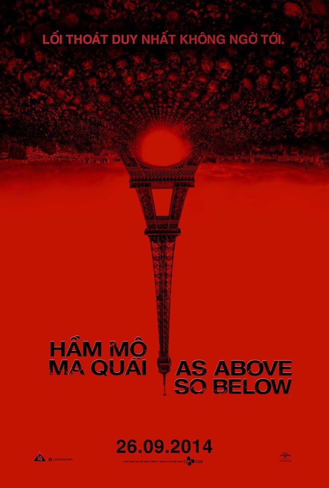 8857- As Above, So Below (2014) Hầm Mộ Ma Quái