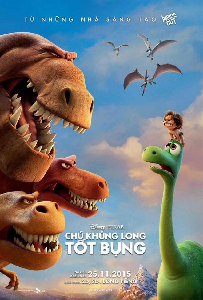 6640 - The Good Dinosaur (2015) Chú Khủng Long Tốt Bụng