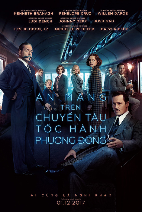 9763 - Murder on the Orient Express (2017) Án Mạng Trên Chuyến Tàu Tốc Hành Phương Đông