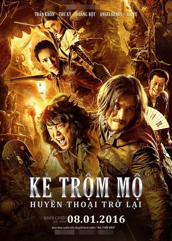 8843 - Mojin The Lost Legend (2016) Kẻ Trộm Mộ