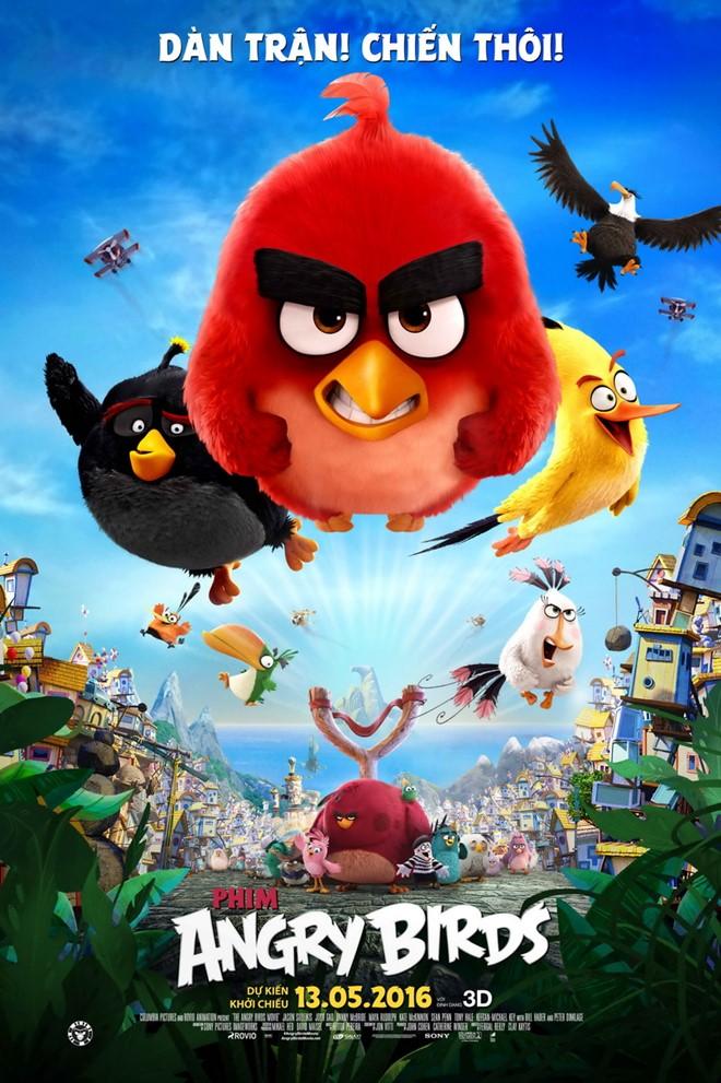 6663 - Angry Birds (2016) - Bầy Chim Nổi Giận - Thuyết Minh