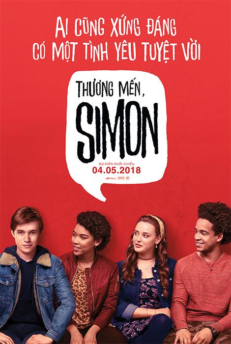 5500 - Love, Simon (2018) Thương Mến Simon