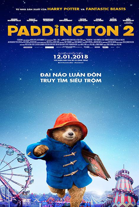6028 - Paddington 2 (2017) Chú Gấu Paddington 2