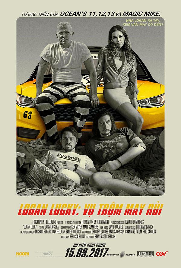 9100 - Logan Lucky 2018 - Vụ Cướp May Rủi