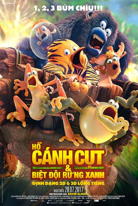 84 - The Jungle Bunch 2019 - Hổ Cánh Cụt Và Biệt Đội Rừng Xanh