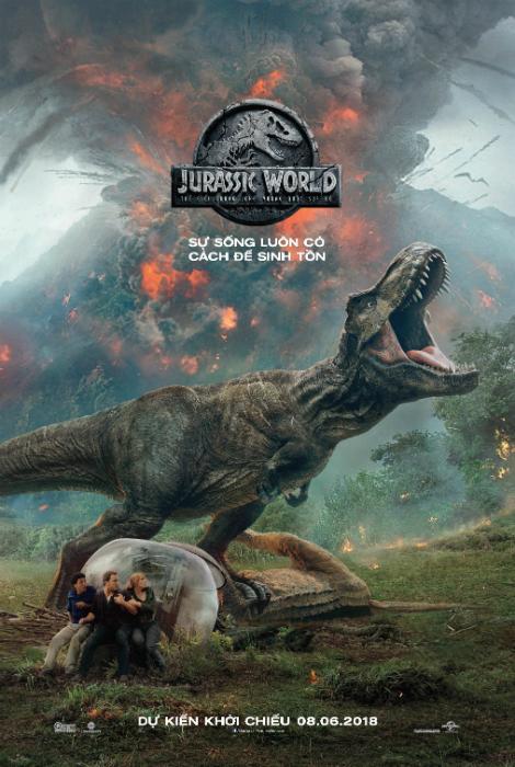 9710 - Jurassic World: Fallen Kingdom (2018) Thế Giới Khủng Long 2: Vương Quốc Sụp Đổ