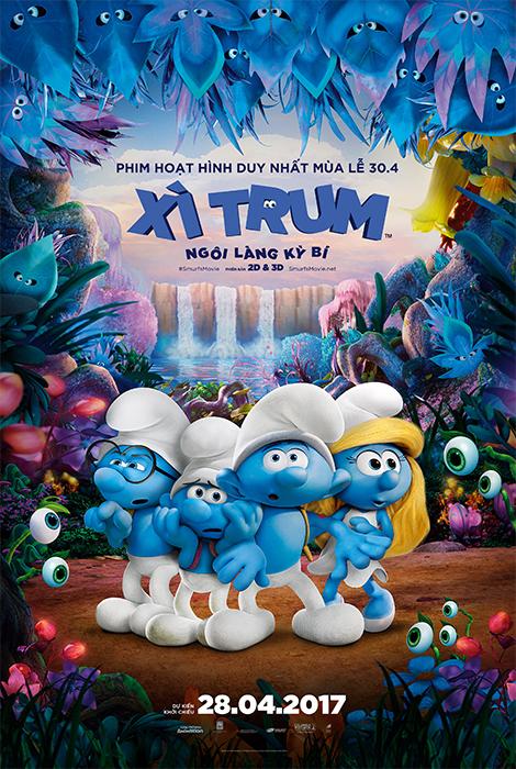 6643 - Smurfs The Lost Village (2017) Xi Trum Ngoi Lang Ky Bi Thuyết Minh