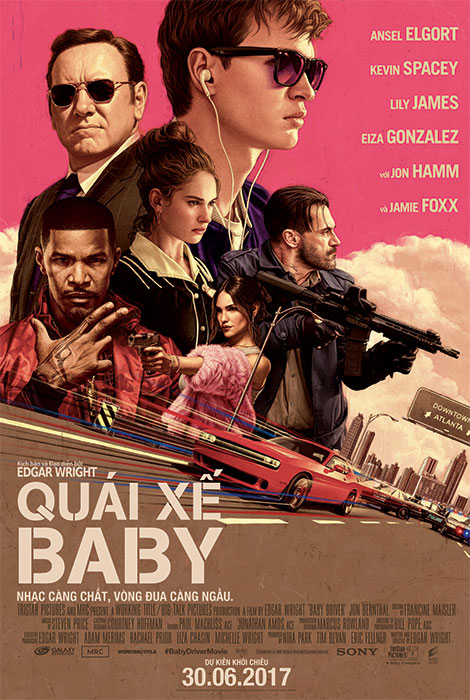 9943 - Baby Driver (2017) - Quái Xế Baby