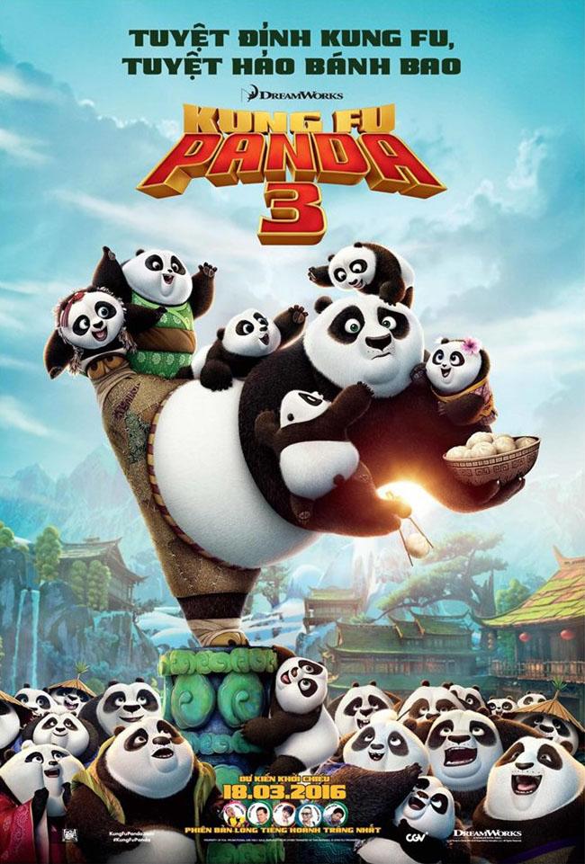 6651 - Kung Fu Panda 3 (2016) - Kung fu Gấu Trúc 3