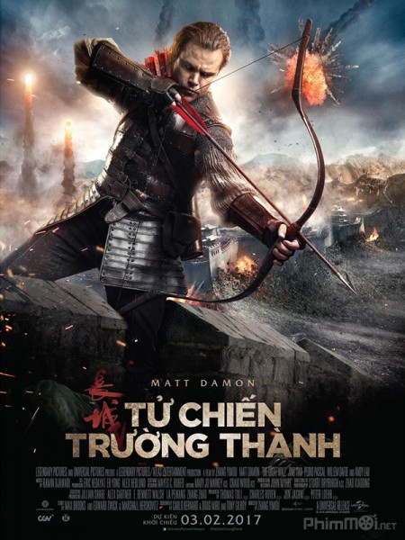 9988 - The Great Wall (2016) - TỬ CHIẾN TRƯỜNG THÀNH