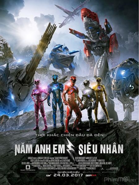 9986 - Power Rangers (2017) - NĂM ANH EM SIÊU NHÂN