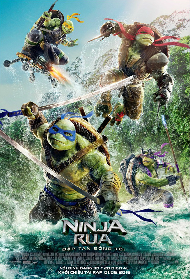 5535 - Teenage Mutant Ninja Turtles: Out of the Shadows (2016) - Ninja Rùa: Đập Tan Bóng Tối