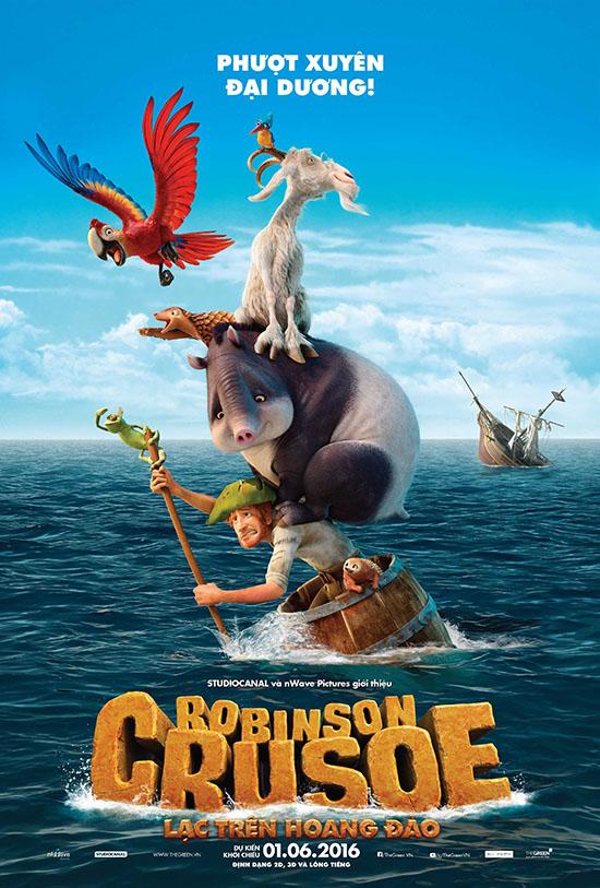 6644 - Robinson Crusoe (2016) - Lạc Trên Hoang Đảo Thuyết Minh