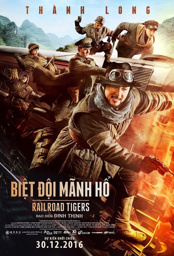 9914 -Railroad Tigers -Biệt Đội Mãnh Hổ (2016)