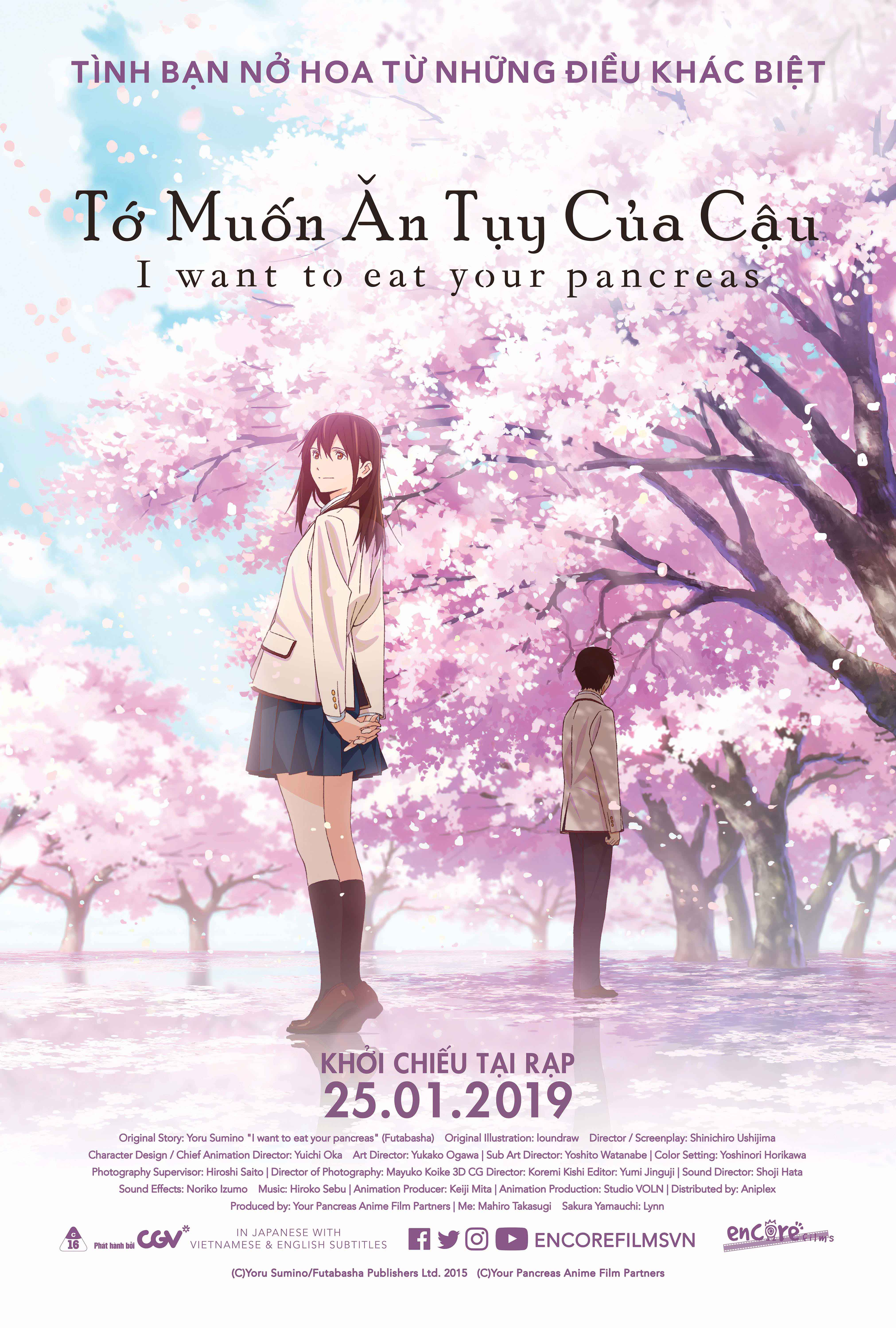 193 - I Want to Eat Your Pancreas 2019 - Tớ Muốn Ăn Tụy Của Cậu