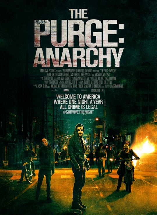 8813 - The Purge: Anarchy (2014) - Sự Thanh Trừng 2: Vô Chính Phủ