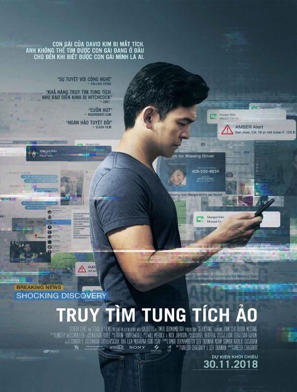 3 - Searching 2018 - Truy Tìm Tung Tích Ảo