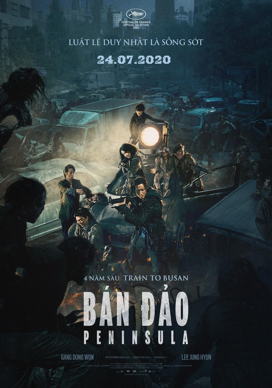 316 - Train To Busan 2 Peninsula 2020 - Bán Đảo