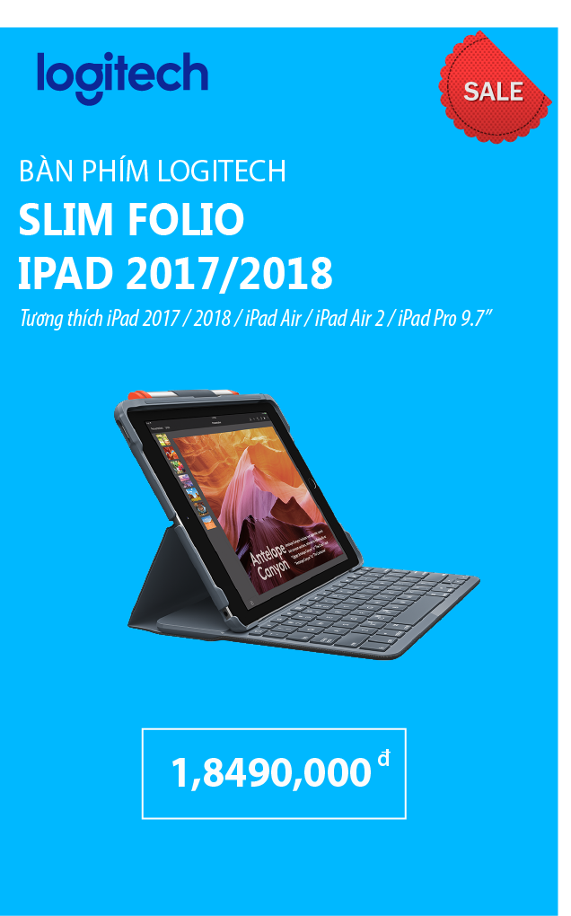 Logitech Slim Folio Keyboard