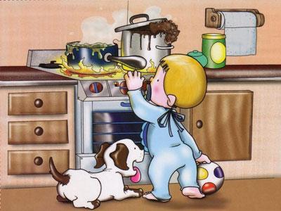 Bếp từ Mitsubishichức năng khóa trẻ em nên rất an toàn với trẻ nhỏ