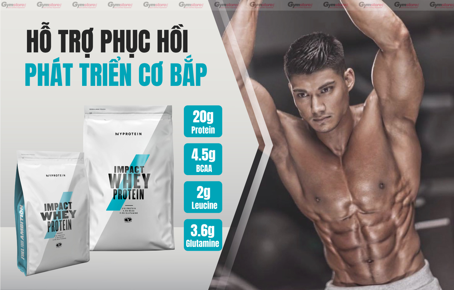 MyProtein-Impact-Whey-Protein-200 Servings-phát-triển-cơ-bắp-gymstore-2