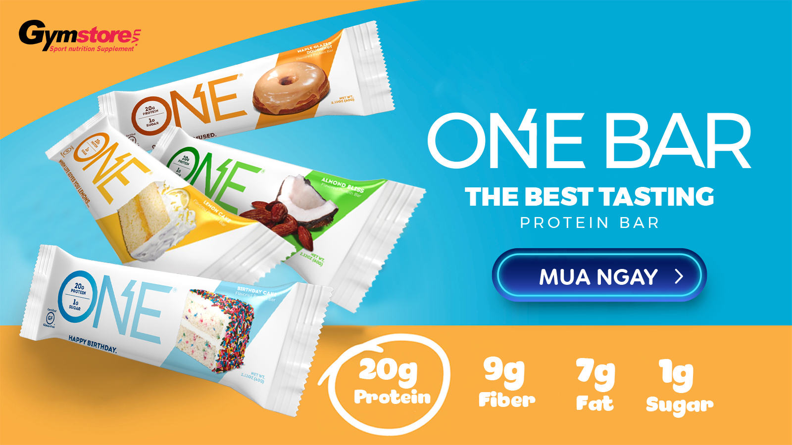 One-Bar-Protein-Bar-ngon-nhat-hien-nay-gymstore