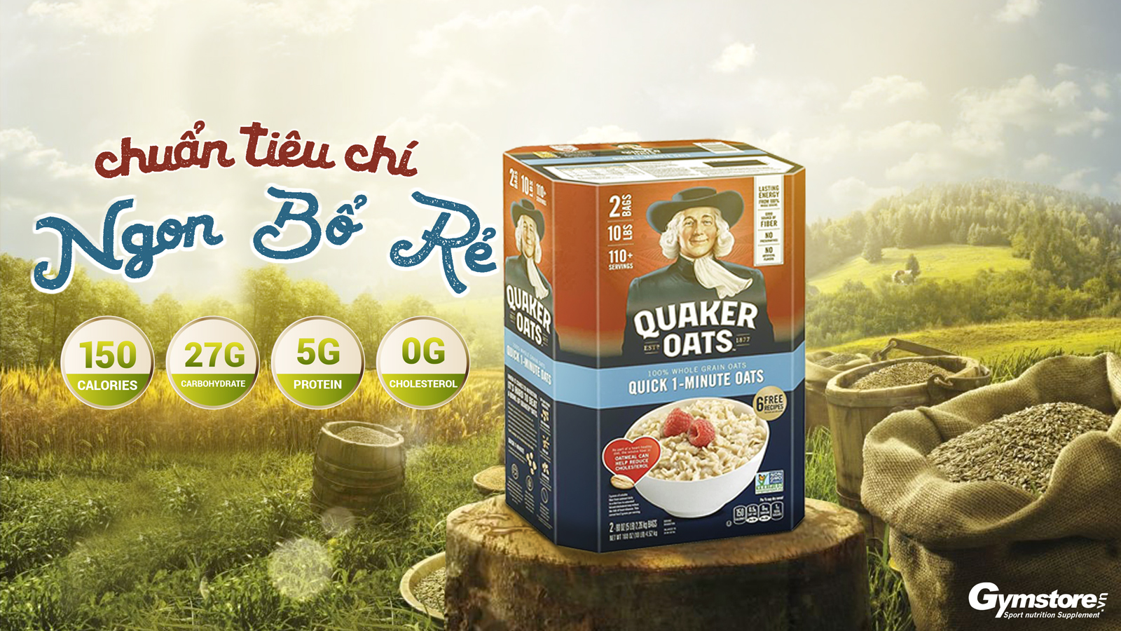 Quaker-Oat-Old-Fashion-Quick-One-Minute-gymstore-4