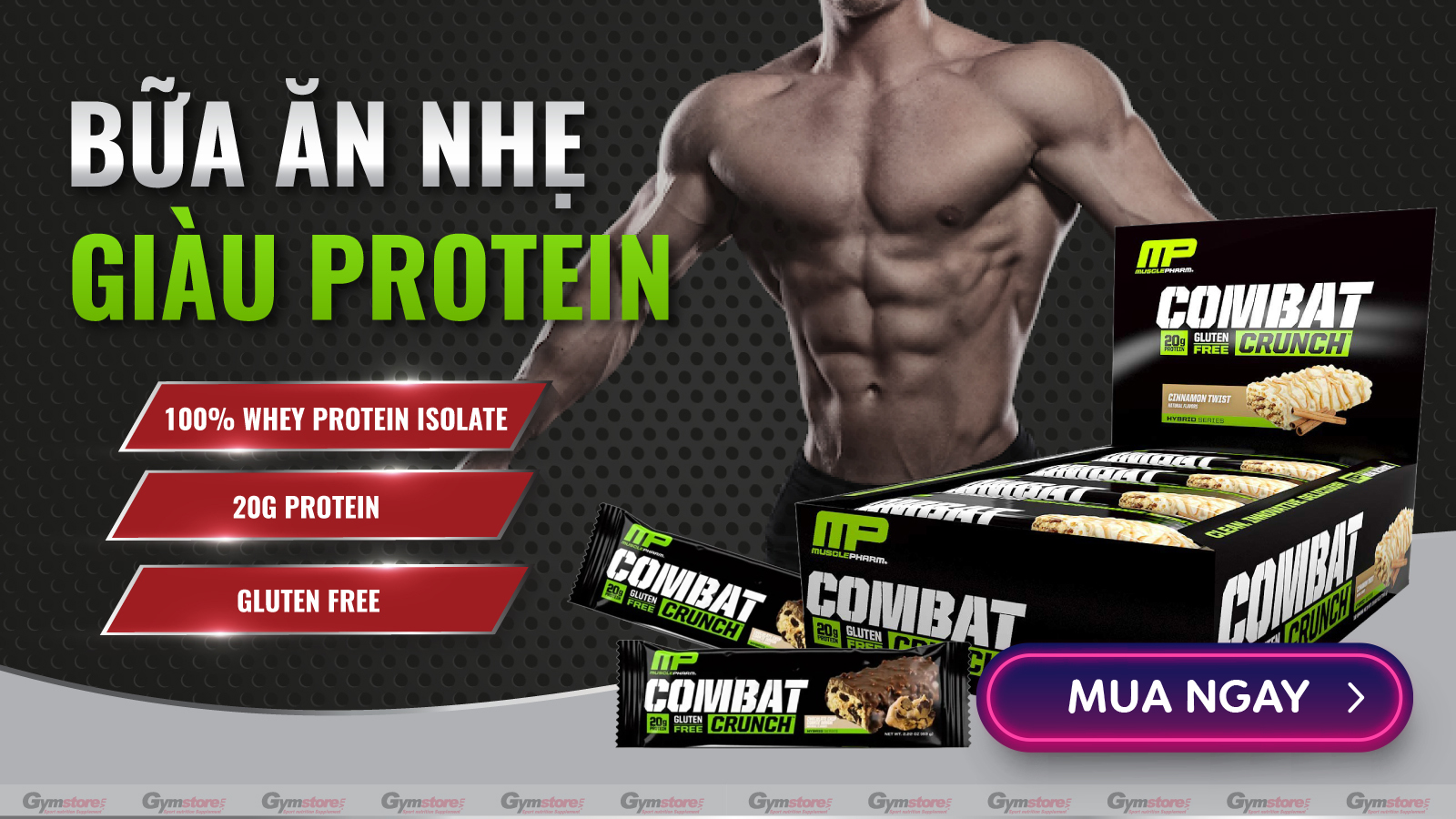 Muscle-Pharm-Combat-Crunch-Protein-Bar-Gymstore