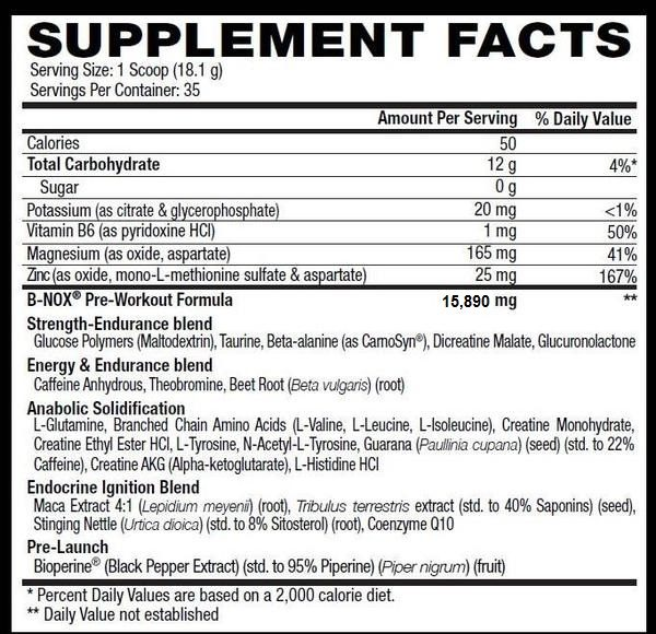 betancourt-bullnox-androrush-nutrition-facts-gymstore