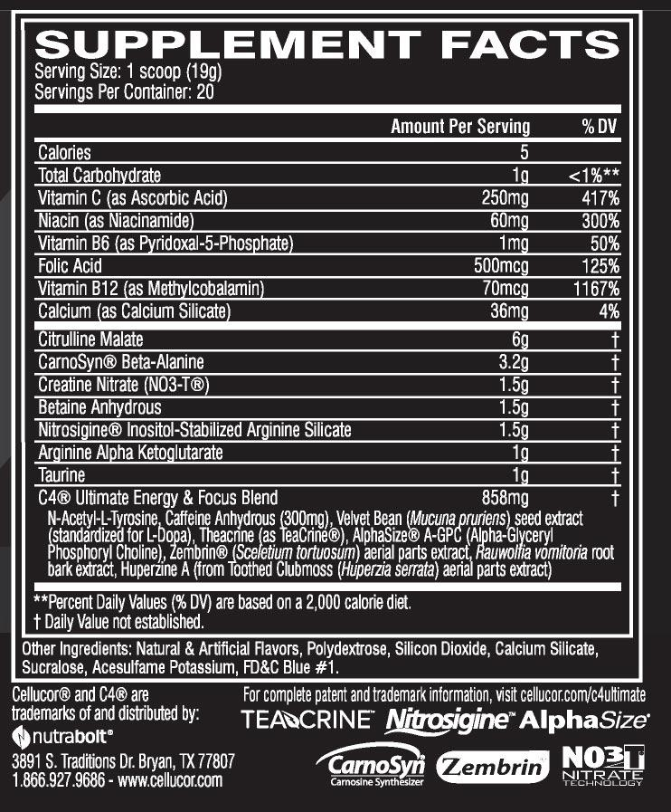 C4-Ultimate-Nutrition-Facts-tăng-sức-mạnh-gymstore