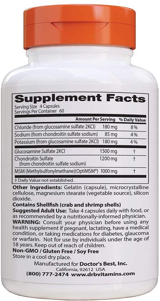 GLUCOSAMINE-CHONDROITIN-MSM-nutrition-facts-gymstore
