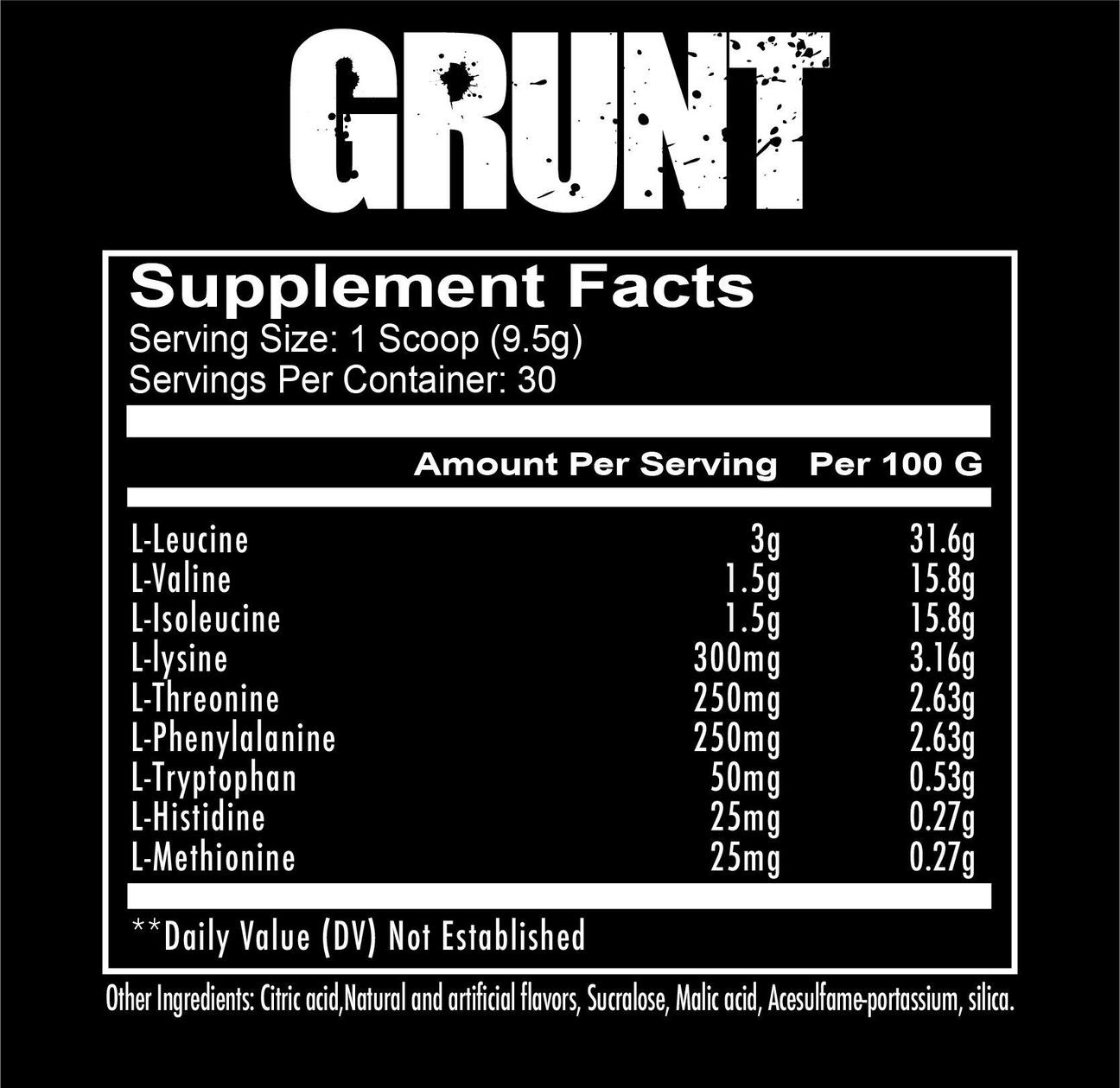 Redcon1-EAA-nutrition-facts-gymstore