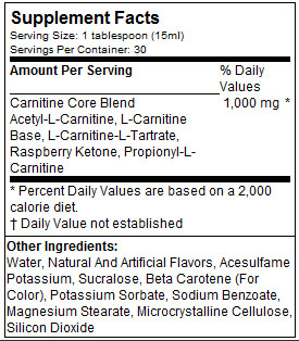 MUSCLEPHARM-ESSENTIALS-CARNITINE-LIQUID-NUTRITION-FACTS-GYMSTORE