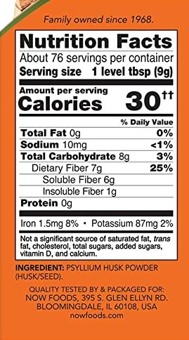 now-psyllium-husk-powder-nutrition-facts-gymstore-123