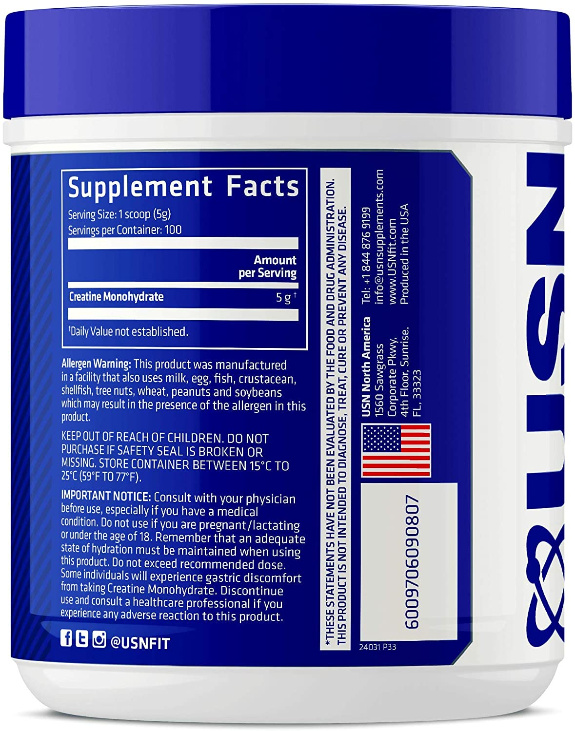 USN-Pure-Creatine-Monohydrate-nutrition-facts-gymstore-1