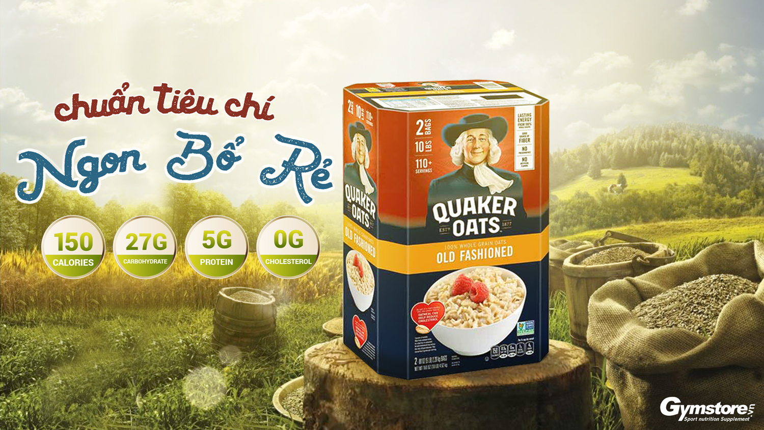 Quaker-Oat-Old-Fashion-Quick-One-Minute-gymstore