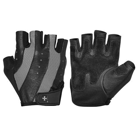 Harbinger Women's Pro Glove, Black/Gray