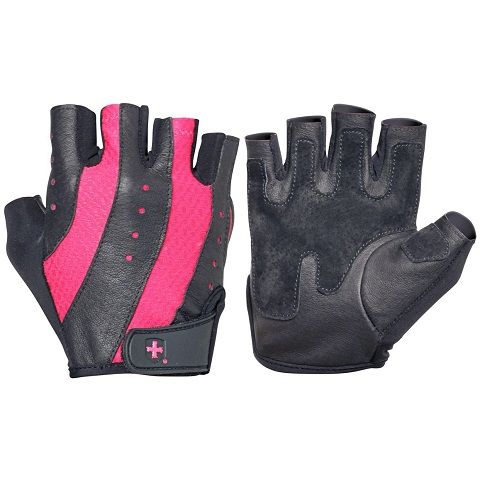 Harbinger Women's Pro Glove, Black/Pink