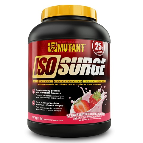 Mutant  ISO Surge, 5 Lbs (76 Servings)