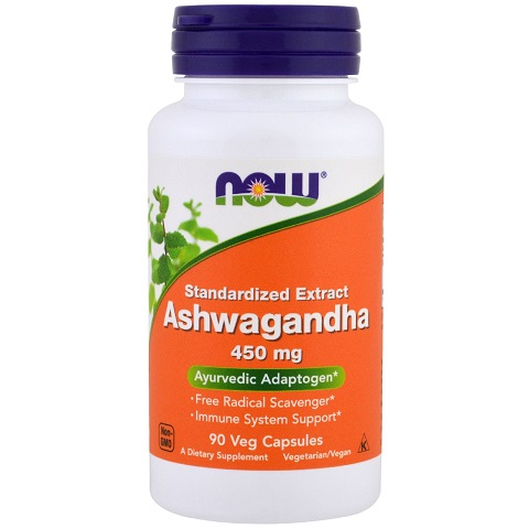 Now Ashwagandha, 450mg/90 Veg Capsules